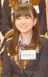HKT48とNGT48による日本テレビ新番組『HKT48vsNGT48 さしきた合戦』(毎週月曜 深1:29※関東ローカル)に出演する矢吹奈子 (C)ORICON NewS inc.