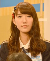 HKT48とNGT48による日本テレビ新番組『HKT48vsNGT48 さしきた合戦』(毎週月曜 深1:29※関東ローカル)に出演する田中菜津美 (C)ORICON NewS inc.