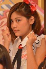 HKT48とNGT48による日本テレビ新番組『HKT48vsNGT48 さしきた合戦』(毎週月曜 深1:29※関東ローカル)に出演する大滝友梨亜 (C)ORICON NewS inc.