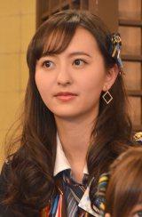 HKT48とNGT48による日本テレビ新番組『HKT48vsNGT48 さしきた合戦』(毎週月曜 深1:29※関東ローカル)に出演する森保まどか (C)ORICON NewS inc.