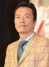 NHK土曜ドラマ『逃げる女』の取材会に出席した遠藤憲一 (C)ORICON NewS inc.