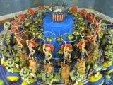 【トイ・ストーリー ゾートロープ】木、アルミニウム、真鍮、スチール、ガラス、プラスチック、石膏 2005年(C) Disney/Pixar