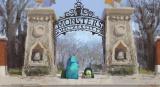 堤大介【モーメントペインティング:退学】『モンスターズ・ユニバーシティ』(2013年) デジタルペインティング(C) Disney/Pixar