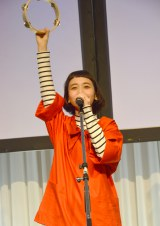 『カワイイ味噌汁 原宿味』発表会イベントに出席した三戸なつめ (C)ORICON NewS inc.