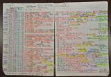 桐谷氏が日々の株取引をすべて記録している「株式売買帳」。毎日、複数銘柄を売買している同氏が実践している投資節約術とは? (C)oricon ME inc.