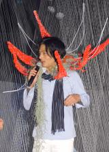 『FLOWERS BY NAKED』オープニングセレモニーに登場した村松亮太郎 (C)ORICON NewS inc.