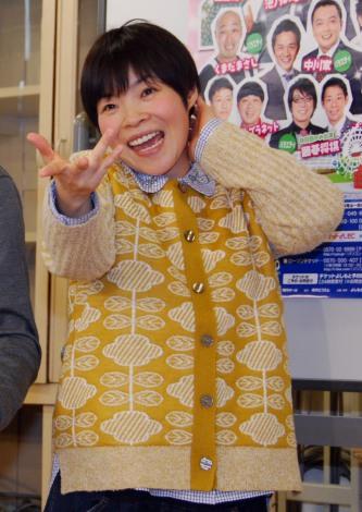第2子を妊娠6ヶ月、お腹がふっくらしてきた山田花子 (C)ORICON NewS inc.