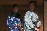 大河ドラマ『真田丸』第1回「船出」より。信繁と信幸のもとに突然、ある人物が現れる(C)NHK