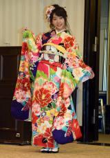 「AKB48グループ成人式記念撮影会」に参加したAKB48の木崎ゆりあ (C)ORICON NewS inc.