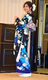 「AKB48グループ成人式記念撮影会」に参加したAKB48の阿部マリア (C)ORICON NewS inc.