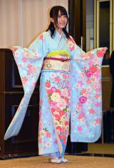 「AKB48グループ成人式記念撮影会」に参加したAKB48の佐々木優佳里 (C)ORICON NewS inc.