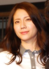 NHKドラマ『恋の三陸 列車コンで行こう!』の会見に出席した松下奈緒 (C)ORICON NewS inc.