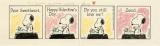 4月23日に開館するスヌーピーミュージアムで世界で初めて公開される「ピーナッツ」原画 (1985年2月14日 シュルツ氏がバレンタインデーに夫人に贈った原画)(C)Peanuts Worldwide LLC