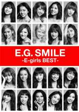 E-girls初のベストアルバム『E.G. SMILE -E-girls BEST-』