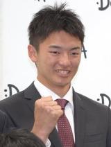 横浜DeNAベイスターズ2016年度新人選手の綾部翔 (C)ORICON NewS inc.