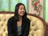 1月16日深夜放送、『TOKYO応援宣言』内で放送される「沙保里の部屋」に出演する奥原希望選手(バドミントン)(C)テレビ朝日