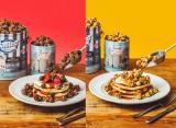 「ギャレットポップコーンショップス」と「J.S.PANCAKE CAFE」のコラボパンケーキ
