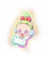 パラ宿のプリパラに突然現れた謎の赤ん坊・ジュルル(C)T-ARTS/syn Sophia/テレビ東京/PP3製作委員会