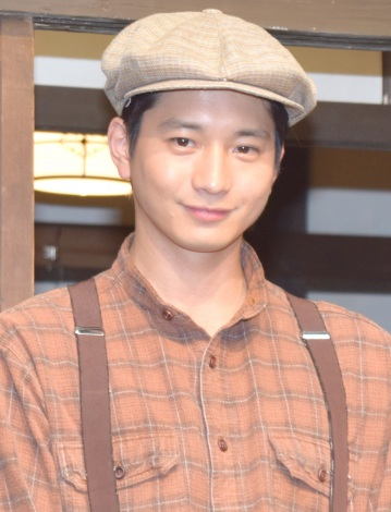 NHK連続テレビ小説『とと姉ちゃん』の取材会に出席した向井