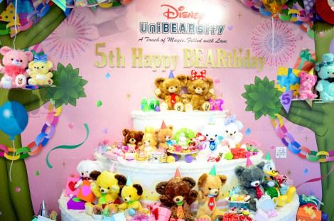 ディズニー「UniBEARsity」の期間限定でポップな5周年記念スポット (c)Disney (C)oricon ME inc.