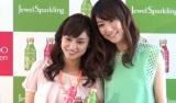 CMに出演している平愛梨(左)とmoumoonのYUKA(右) (C)ORICON NewS inc.