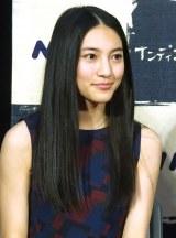 ドラマ『インディゴの恋人』の試写会に出席した久保田紗友 (C)ORICON NewS inc.