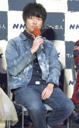 ドラマ『インディゴの恋人』の試写会に出席した新井浩文 (C)ORICON NewS inc.