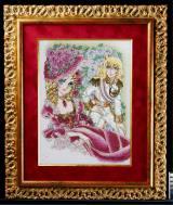 オスカル&マリー・アントワネットの「ジュエリー絵画」