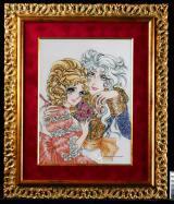 池田理代子氏の代表作『ベルサイユのばら』が「ジュエリー絵画」に
