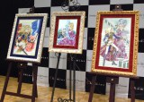 『ベルサイユのばら』が宝石を敷き詰めて制作する「ジュエリー絵画」に(C)ORICON NewS inc.