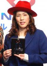 『アントマン』MovieNEX発売記念イベントに出席した吉田沙保里 (C)ORICON NewS inc.