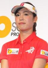 オスカープロモーションと芸能マネージメント契約したプロゴルファーの大山亜由美 (C)ORICON NewS inc.