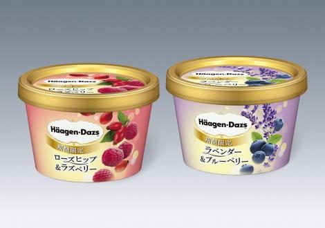 ハーゲンダッツから華やかな香りと味わいが楽しめる新フレーバー2種が登場