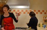 美容にも健康にもピッタリなトマトを使った「トマトパッツア」を考案した料理研究家の浜内千波さん (C)oricon ME inc.
