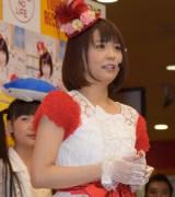 歌手デビュー曲「ブリカマぶるーす」のCD発売記念イベントを行った小林麻耶 (C)ORICON NewS inc.