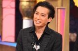 関西テレビ『快傑えみちゃんねる』(2月5日放送分)に出演し、DNA鑑定について言及する大沢樹生(C)関西テレビ