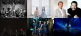 """『震災から4年 """"明日へ""""コンサート』3月9日生放送(写真上段左から)AKB48、Kiroro、北島三郎、西田敏行、(下段左から)SEKAI NO OWARI、Perfume、ゆず"""