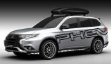「東京オートサロン2016」三菱『アウトランダーPHEV ACTIVE CAMPER Concept』(C)Mitsubishi Motors Japan