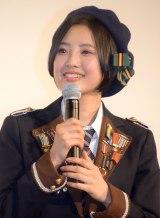 映画『尾崎支配人が泣いた夜 DOCUMENTARY of HKT48』初日舞台あいさつに登壇した兒玉遥 (C)ORICON NewS inc.