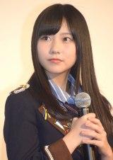 映画『尾崎支配人が泣いた夜 DOCUMENTARY of HKT48』初日舞台あいさつに登壇した田中美久 (C)ORICON NewS inc.