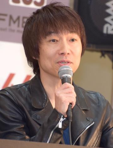 『ROOTS66−Naughty 50−』の開催記者会見に出席した宮田和弥 (C)ORICON NewS inc.