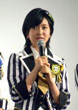 須藤凜々花=NMB48ドキュメンタリー映画『道頓堀よ、泣かせてくれ! DOCUMENTARY of NMB48』初日舞台あいさつ (C)ORICON NewS inc.