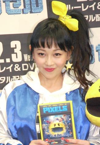 映画『ピクセル』ブルーレイ&DVDリリース記念イベントに出席した浅香唯 (C)ORICON NewS inc.