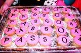 バレンタインをイメージしたキュートなカップケーキ