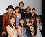 AKB48グループメンバー9人が主演した映画『9つの窓』初日舞台あいさつ (C)ORICON NewS inc.