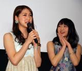 映画『9つの窓』に主演した(左から)茂木忍、木崎ゆりあ (C)ORICON NewS inc.