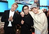 (写真左から)ディプロ、 スクリレックス、 ジャスティン・ビーバー Photo by Getty Images