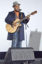 「僕はここで生きていく」ミュージックビデオ(MV)ドラマバージョン完成披露発表会に出席したクリス・ハート(C)ORICON NewS inc.