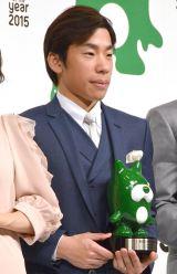 『BLOG of the year 2015』授賞式に出席した織田信成 (C)ORICON NewS inc.