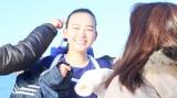 天野菜月が出演する「東京サプライ少女」篇の撮影風景
